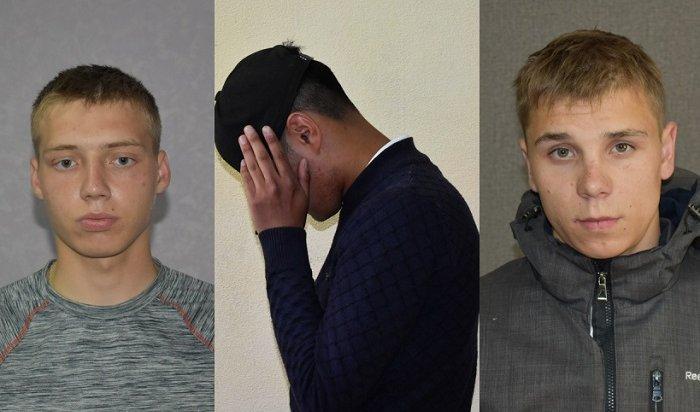 ВИркутске задержали угонщиков, причастных ксерии краж (Видео)