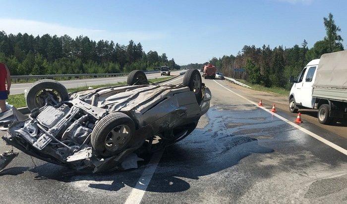 Водитель Toyota Camry погиб наобъездной Ангарска (Видео)