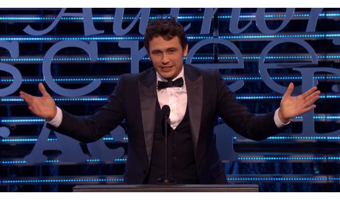 Важнее «Оскара»: ТНТ4покажет «Прожарку Джеймса Франко»