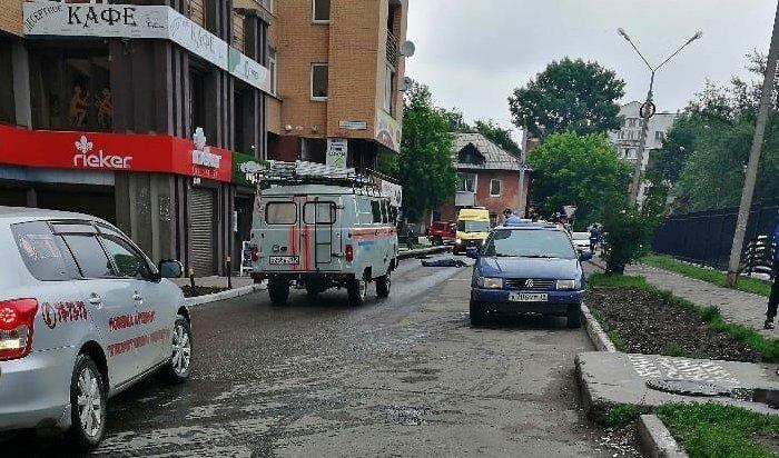 Парень выпал с10этажа дома вЖК«Зеон» вИркутске