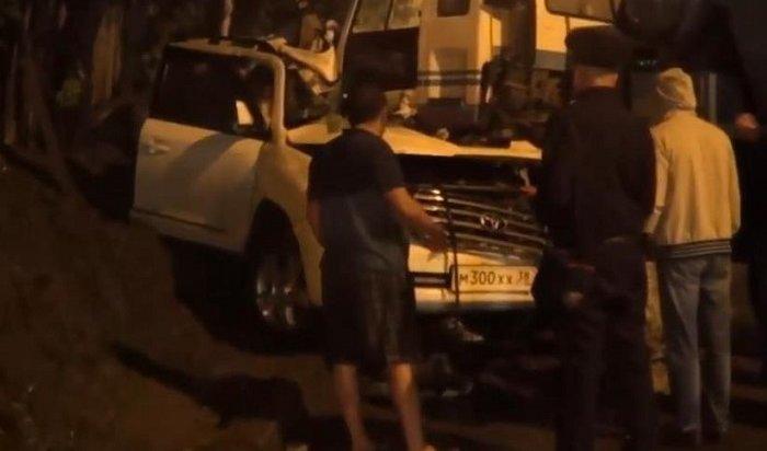 Иркутские полицейские обнародовали видео смертельного ДТП наулице Костычева
