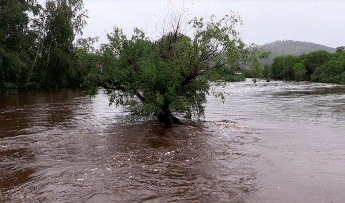 МЧС: получен прогноз оподъеме уровня воды впяти реках Иркутской области