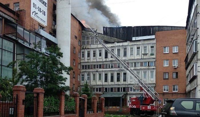 Пожар вSushi-Studio возник из-за разлитого масла (Видео)