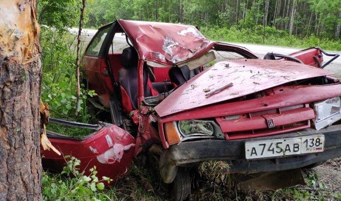 Два человека погибли вДТП вСлюдянском районе
