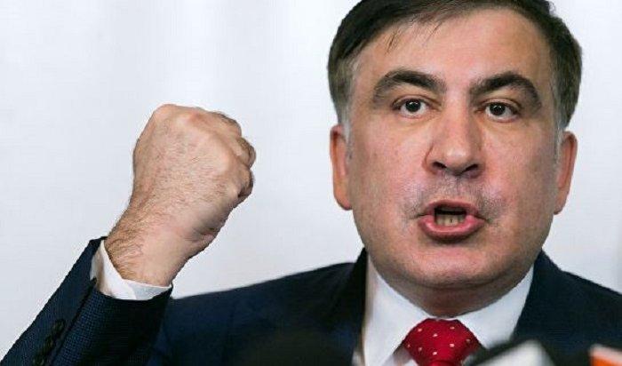 Саакашвили иЛяшко устроили перепалку впрямом эфире (Видео)