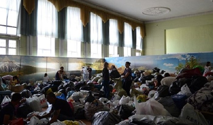 Сергей Сокол: Собрано более тридцати тонн гуманитарной помощи