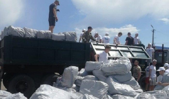 Военные ЦВО доставили мобильный хлебозавод вНижнеудинский район (Видео)