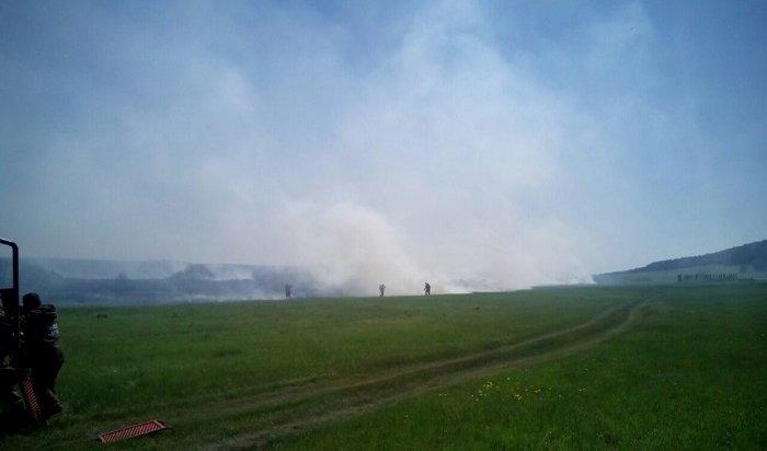 Тайга продолжает гореть вИркутской области