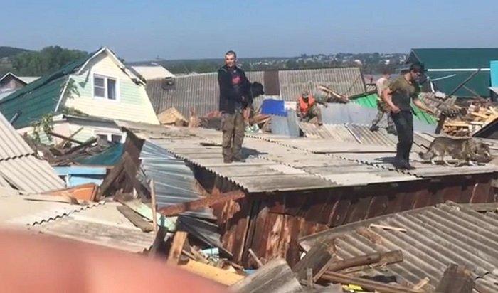 Взону затопления вИркутской области попало более миллиона квадратных метров жилья