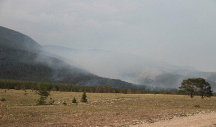 Лесные пожары бушуют вИркутской области