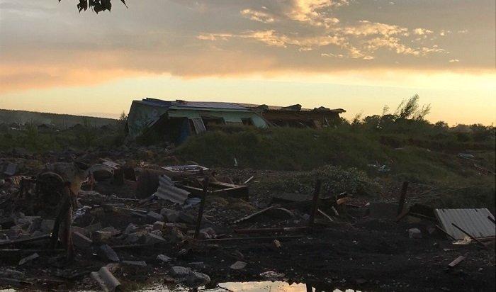 Вывоз унесенных наводнением домов начнут 7июля вТулуне (Видео)