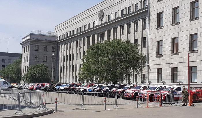 Международное ралли «Шелковый путь-2019» стартовало вИркутске (Фото+Видео)
