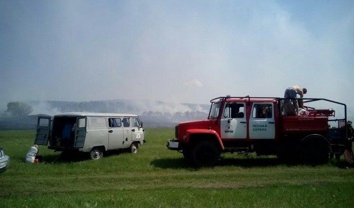 Режим ЧСиз-за лесных пожаров действует вчетырех районах Иркутской области