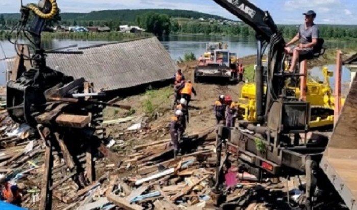 ВТулуне все еще подтоплено 190жилых домов