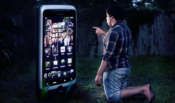 Смартфоны жителейПриангарья стали больше