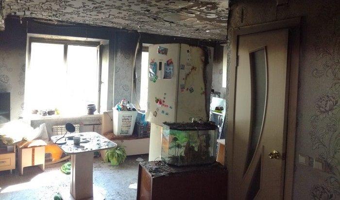 Спасатели эвакуировали жильцов многоэтажки вовремя пожара вСаянске