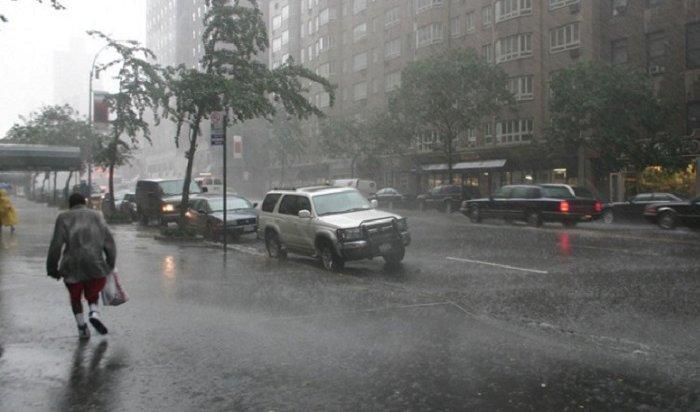Ураган разгулялся вКрасноярском крае идвижется вИркутскую область
