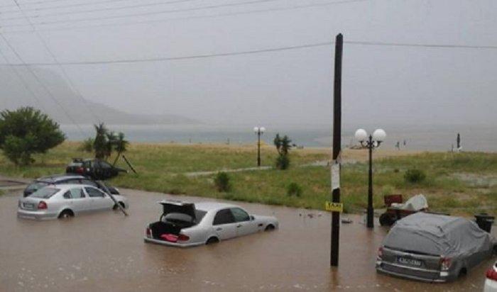 Россияне погибли вовремя урагана вГреции