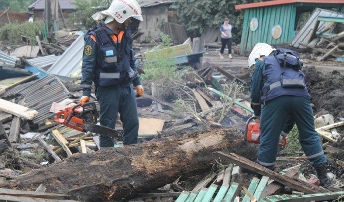 ВТулун передислоцировалась группировка Сибирского спасательного центра МЧС