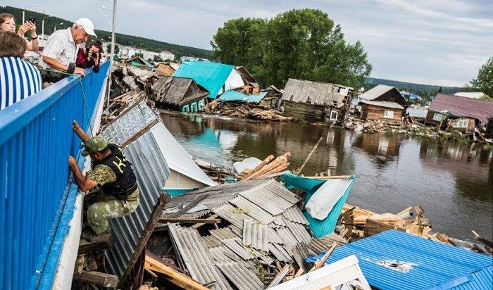 138жилых домов остаются подтопленными вТулуне