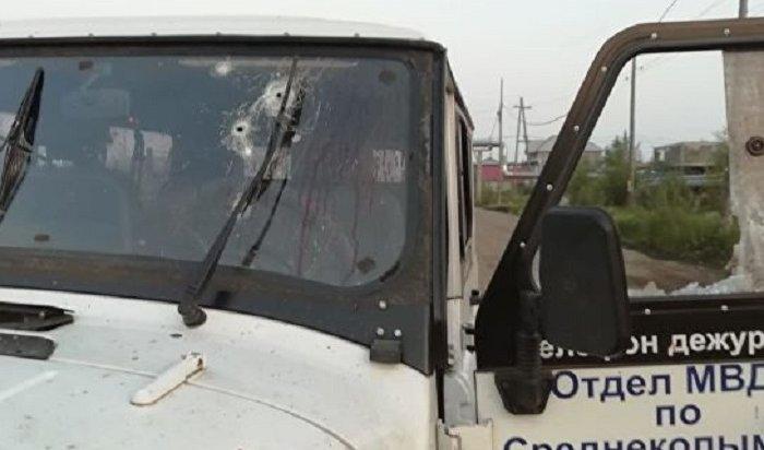 ВЯкутии дебошир покончил ссобой, застрелив полицейского
