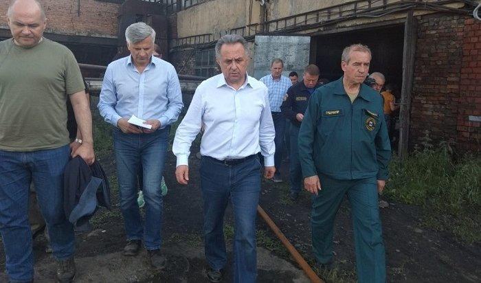 Вице-премьер правительства РФВиталий Мутко прибыл вИркутскую область