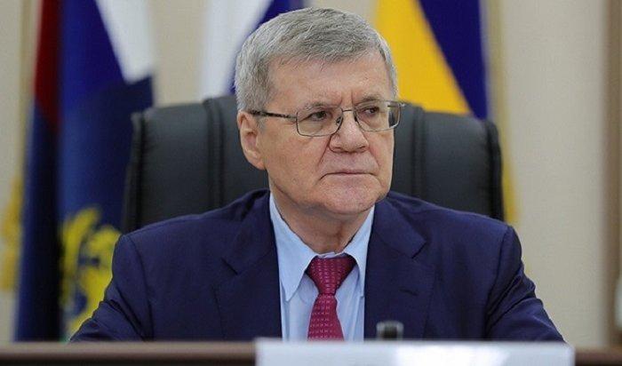 30жителей Тулуна попали наличный прием кгенпрокурору РФЮрию Чайке
