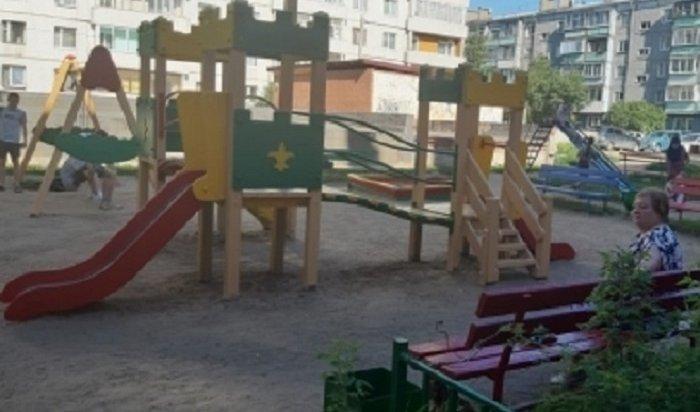 65детских площадок отремонтируют вОктябрьском округе Иркутска
