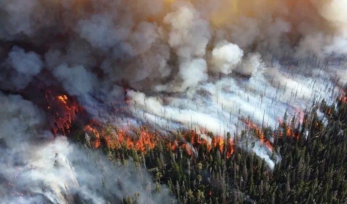100пожаров действуют вИркутской области