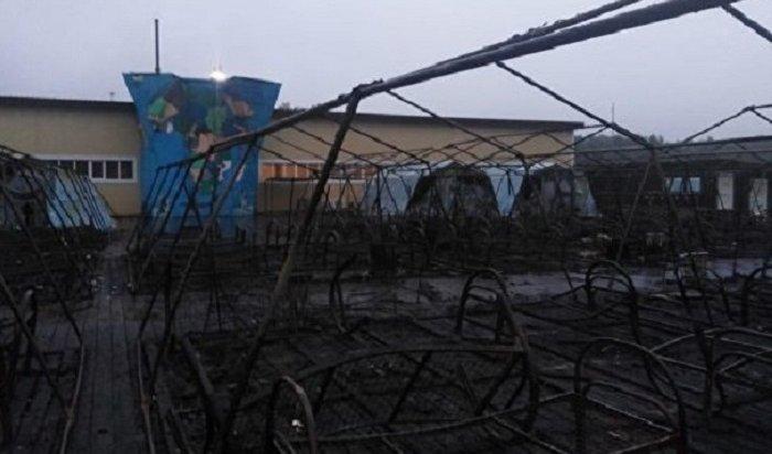 Девочка погибла вовремя пожара впалаточном лагере вХабаровском крае