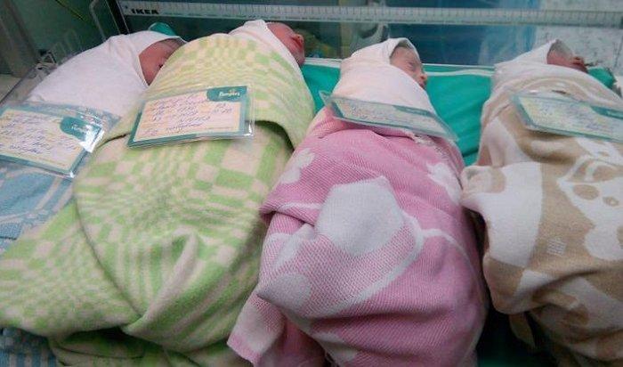 37-летняя жительница Санкт-Петербурга родила четверню