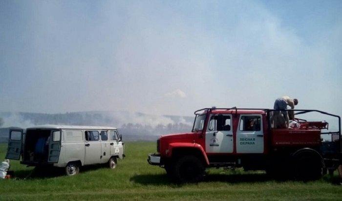 Тайга горит наплощади более 500тысяч гектаров вИркутской области