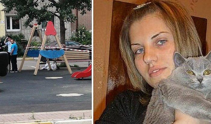 Убийство молодой матери надетской площадке вПодмосковье попало навидео