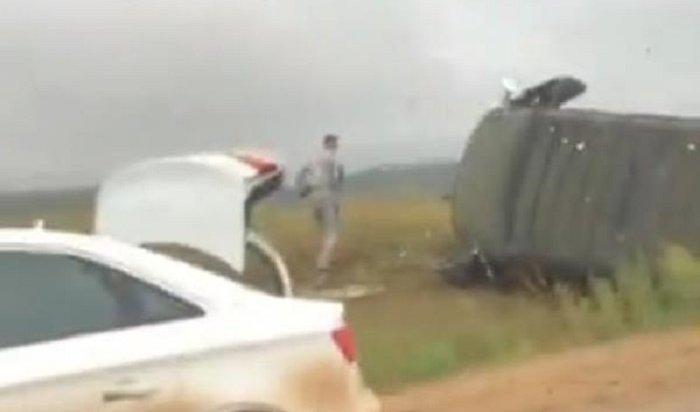 Семь человек пострадали вДТП вОльхонском районе (Видео)