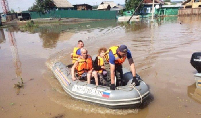 ВТулуне иТулунском районе из-за угрозы нового наводнения проходит эвакуация населения