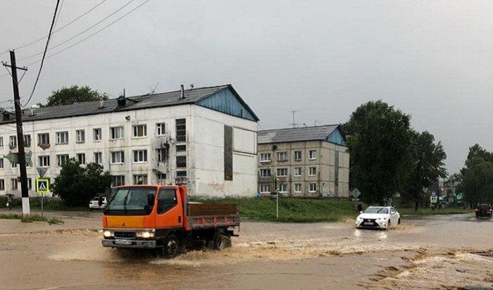 ВШелеховском иСлюдянском районах объявили режим ЧСиэвакуируют жителей (Видео)