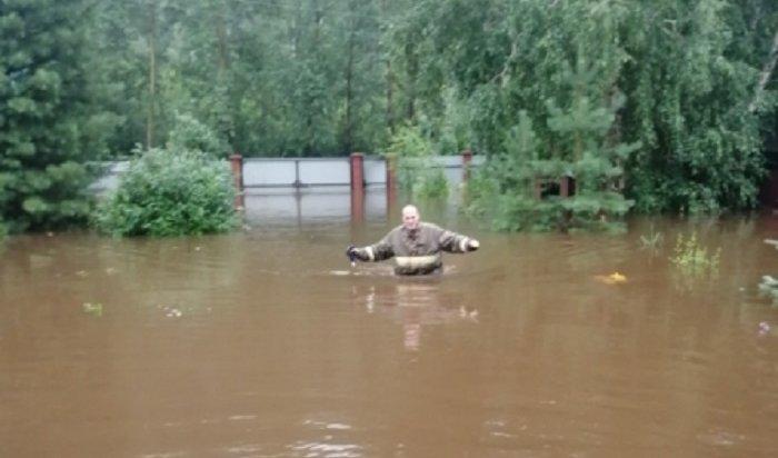 Взоне паводка оказались 475домов ввосьми районах Иркутской области