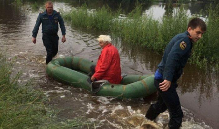 25населенных пунктов остаются подтопленными вИркутской области