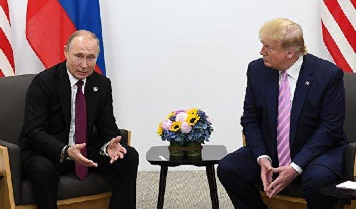 Трамп предложил Путину помощь втушении лесных пожаров в Сибири