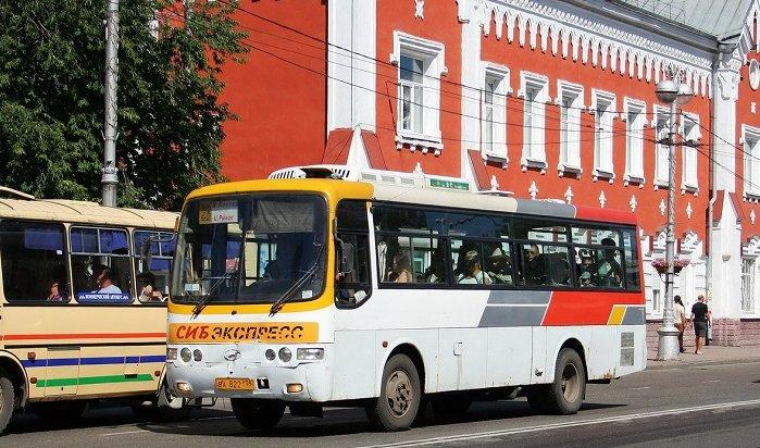 Временная схема движения автобусов вИркутске будет действовать до10августа