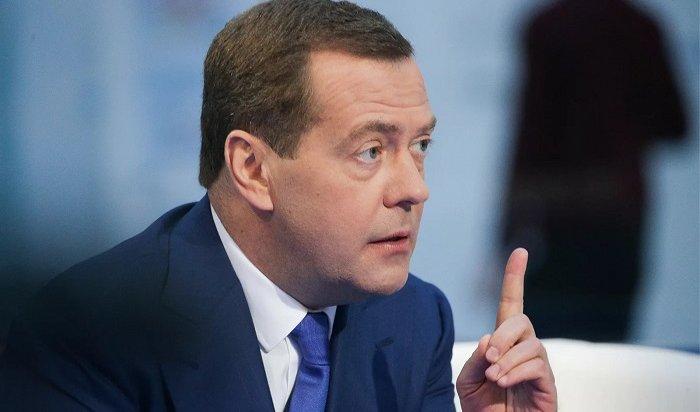 Медведев поручит выделить средства для тушения лесных пожаров