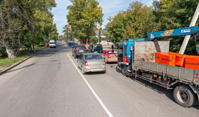Проезд поКрасноказачьей вИркутске закроют надва месяца