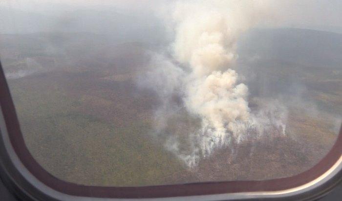 Более 600тонн воды засутки слили савиабортов нагорящую тайгу Приангарья