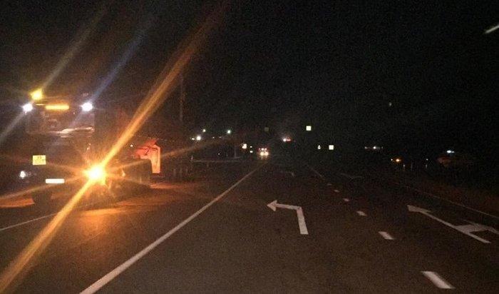 Водитель тягача сбил насмерть пешехода вАларском районе