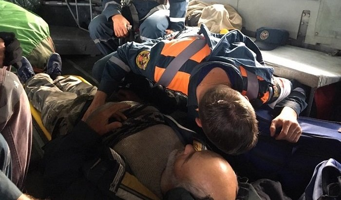 Вгорах Бурятии спасли 75-летнего туриста (Видео)