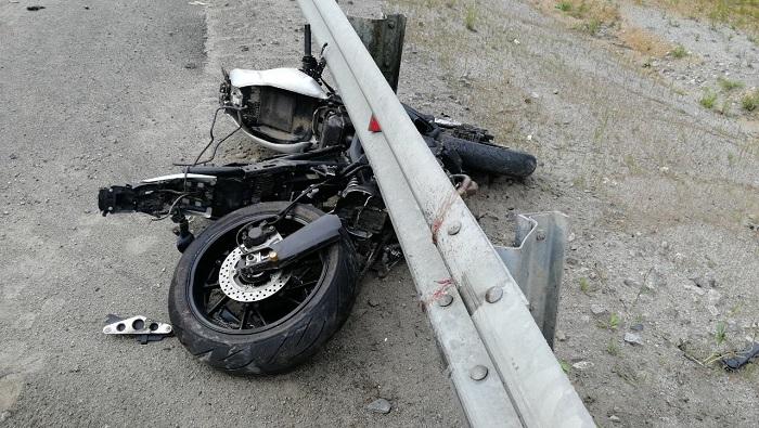 Мотоциклист погиб вДТП вШелеховском районе 16августа