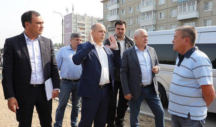 Сергей Сокол иСергей Тен проверили реализацию вИркутской области нацпроекта «Безопасные икачественные автомобильные дороги»