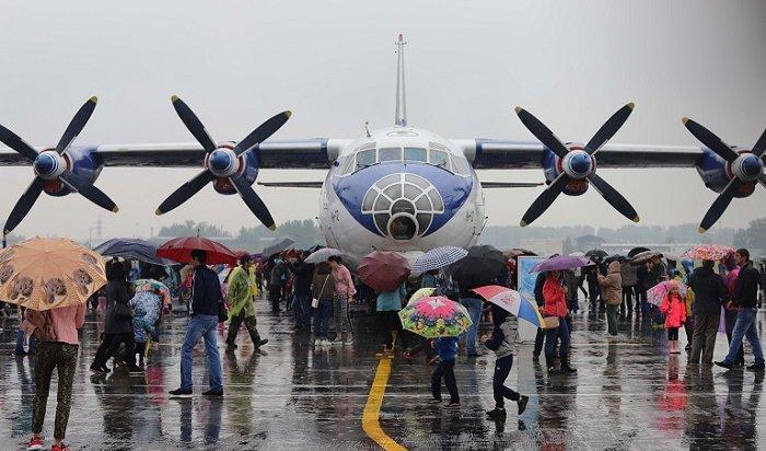 День открытых дверей прошел наИркутском авиационном заводе (Фото)