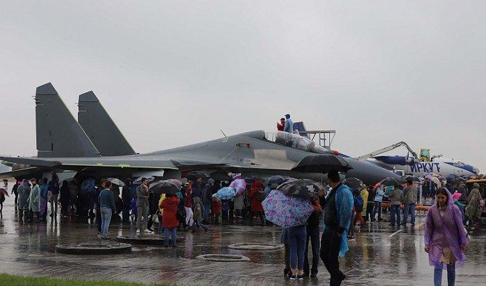 ВИркутске собрали истребители Су-30СМ для Белоруссии