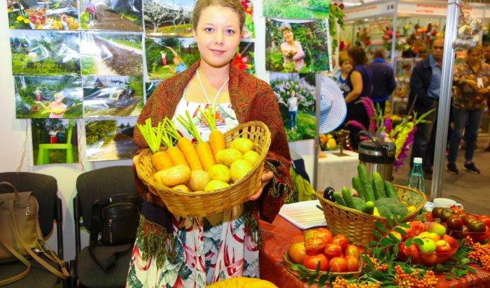 ВИркутске открылась выставка урожая